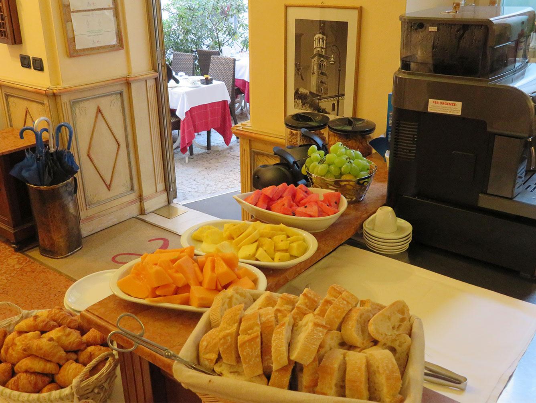 Hotel Torcolo Verona sala colazione