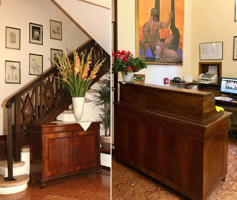 Hotel Torcolo Verona reception
